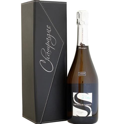 スゴンデ・シモン ブリュット グラン・クリュ キュヴェ・ル・ヴィラージュ 2009 ミレジム 合皮化粧箱入り RM 自然派シャンパン