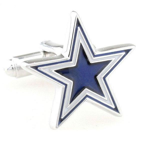 送料無料 新品未使用 専用のカフスケースにいれてお届けします プレゼント贈り物用にお薦めです 五芒星の形のスターカフスボタン Five-pointed カフス star 信憑 カフリンクス カフスボタン