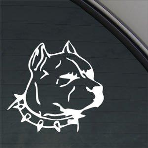 定番スタイル 車やパソコン バイクに最適 発売モデル 貼り付け簡単デコレーションステッカー 全8種類 送料無料 カッティングシール ドッグステッカーシール アメリカンピットブル犬 カーステッカー