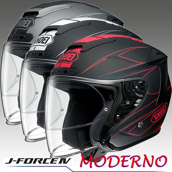 【SHOEI】 ジェットヘルメットJ-FORCE4 MODERNO(ジェイ-フォース4 モデルノ)【ショウエイ】【送料無料】【コンビニ受取対応商品】