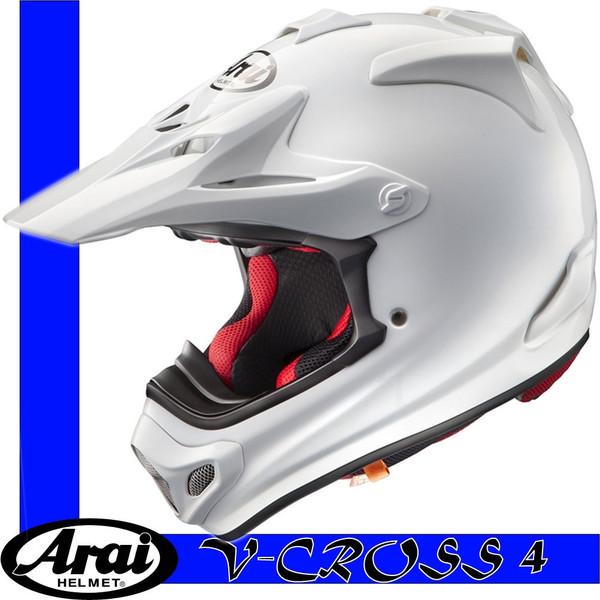 【Arai】V-CROSS4 MXヘルメット Vクロス4 ホワイト【アライ】【送料無料】