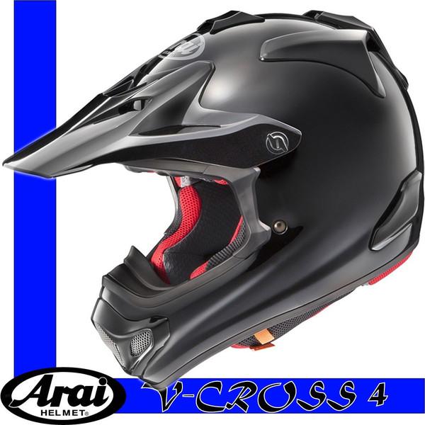 【Arai】V-CROSS4 MXヘルメット Vクロス4 ブラック【アライ】【送料無料】