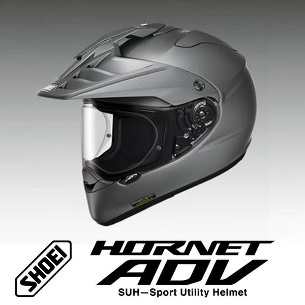 【SHOEI】SHOEI HORNET ADV (ホーネットADV) マットディープグレー オフロードヘルメット【送料無料】