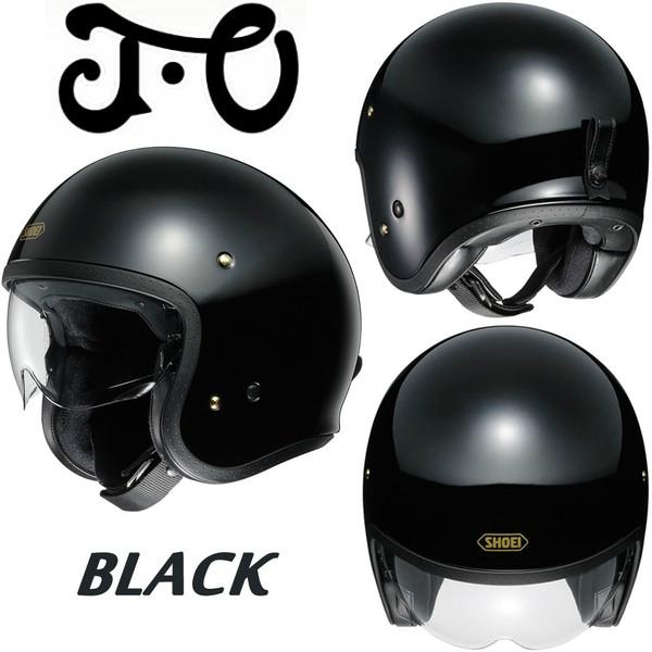 【SHOEI】 ショーエイ ジェットヘルメット J・O (ジェイオー) ブラック【送料無料】【コンビニ受取対応商品】