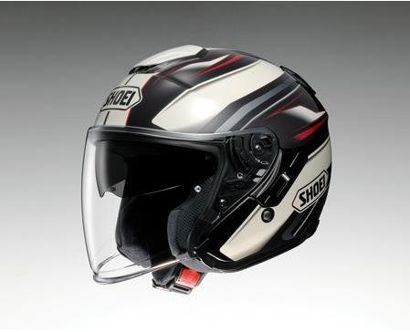 【SHOEI】 ジェットヘルメット J-Cruise PASSE(Jクルーズ パッセ) TC-10 ブラウン/白 インナーバイザー搭載 【ショウエイ】【送料無料】【コンビニ受取対応商品】