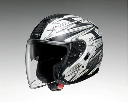 【SHOEI】 ジェットヘルメット J-Cruise CLEAVE(Jクルーズ クリーブ) TC-6 白/グレー インナーバイザー搭載 【ショウエイ】【送料無料】【コンビニ受取対応商品】