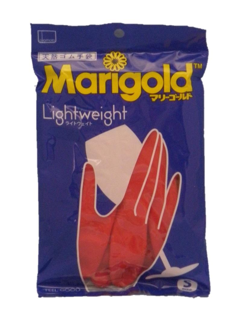 専門店 ゴム手袋 4双までメール便可能 マリーゴールド ライトウエイト オカモト 手袋 早割クーポン 1双