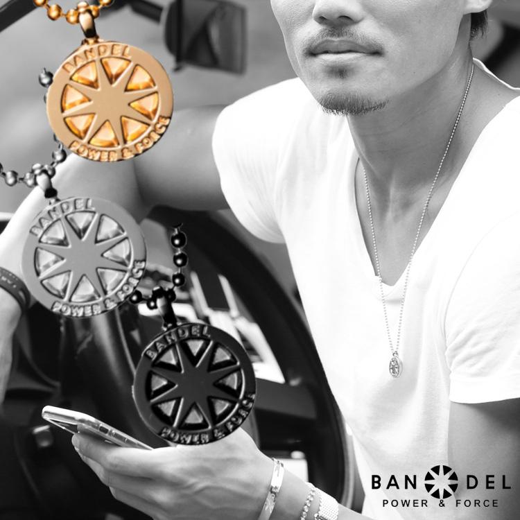 バンデル チタン ネックレス ラージ BANDEL necklace titanium large メンズ レディース シルバー ゴールド ブラック 送料込み スポーツ