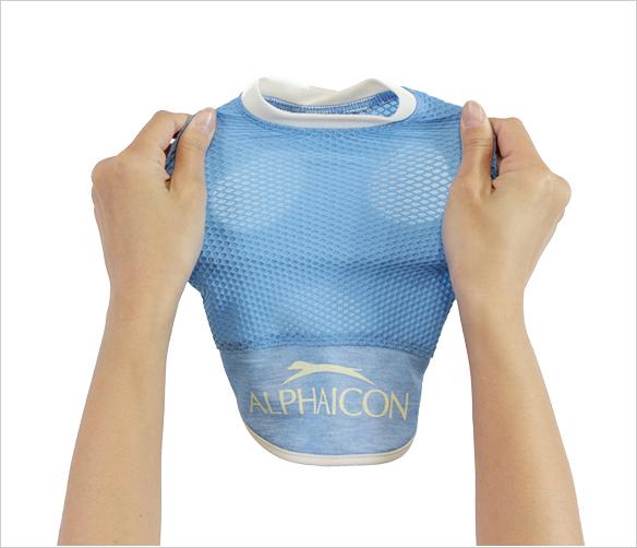 【ALPHAICON】 ワッフルロゴTシャツ DXS 【アルファアイコン】