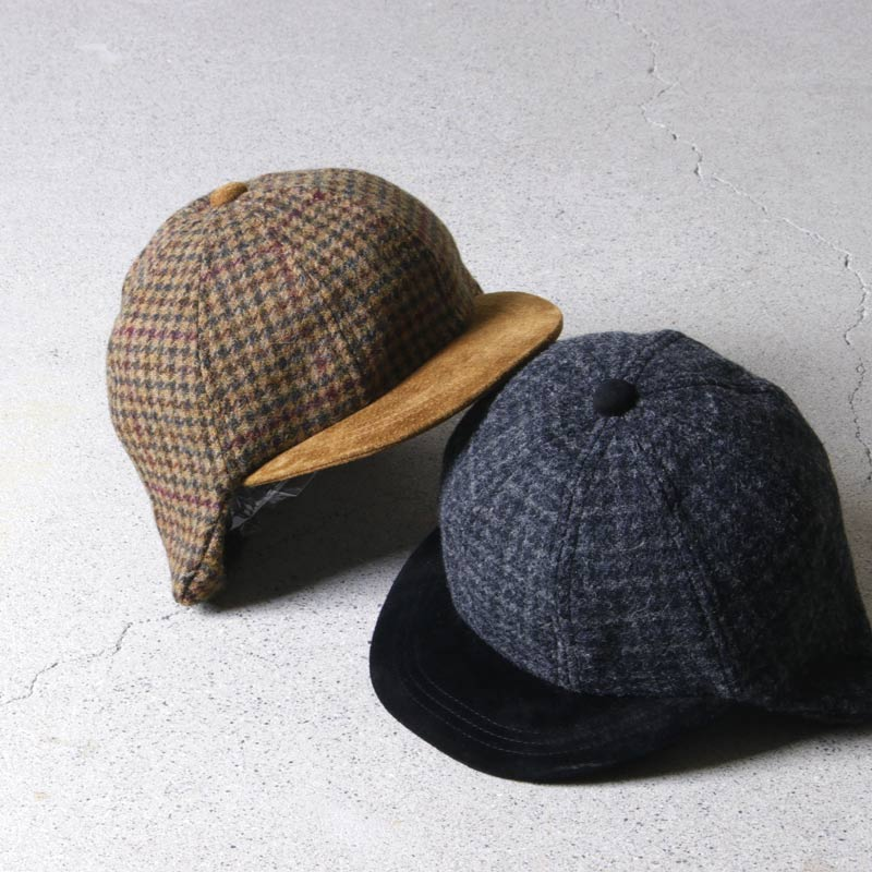 【P10倍 06/11 01:59 まで】Hender Scheme エンダースキーマ tweed ear cap ツイードイヤーキャップ