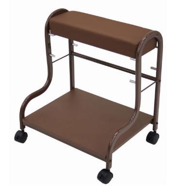 フットケアのサポートに最適な専用ワゴン「ペティ台」 ペディ台(フットケアワゴン)ブラウン