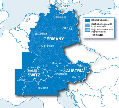 City Navigator Europe NT - Alps + DACH microSD/SD card (シティナビゲーターアルプス/ドイツ/オーストリア/スイス/リヒテンシュタイン/北イタリア/東フランス microSD/SDカード)GARMIN(ガーミン)