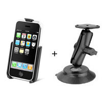 RAMマウント 吸盤固定型 【Apple】 i Phone 3G用《あす楽対応》