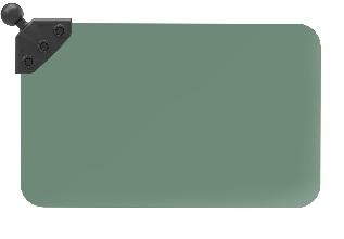 RAMマウント サンバイザー(ダークグリーン)1インチボール