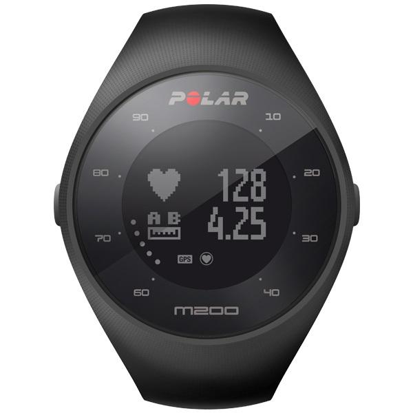 POLAR(ポラール)「M200 GPS ブラック」【手首型心拍計】国内正規品≪あす楽対応≫