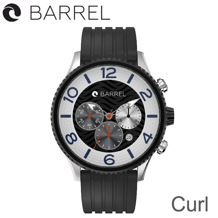 BARREL(バレル)Curl(Black Grey) 【送料・代引手数料無料】≪あす楽対応≫