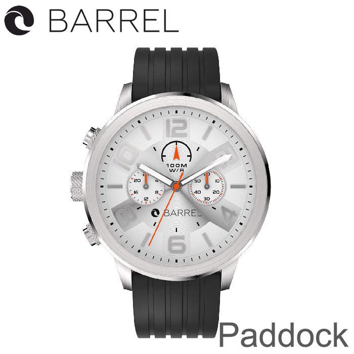 BARREL(バレル)Paddock(Black White) 【送料・代引手数料無料】≪あす楽対応≫