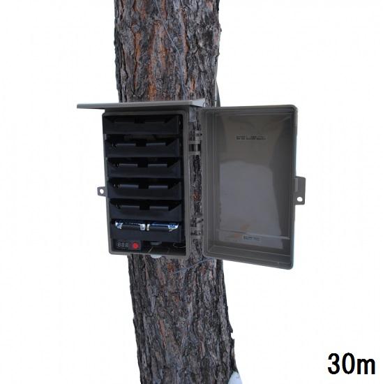 単1電池バッテリーボックス(30mケーブル) EX24C-6V30m【送料・代引手数料無料】