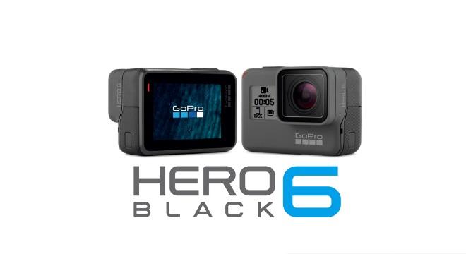 GoPro HERO6 ブラック(chdhx-601-fw)【送料・代引き手数料無料】