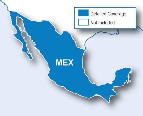 City Navigator Mexico NT microSD/SD card(シティナビゲーターメキシコ NT microSD/SDカード)GARMIN(ガーミン)