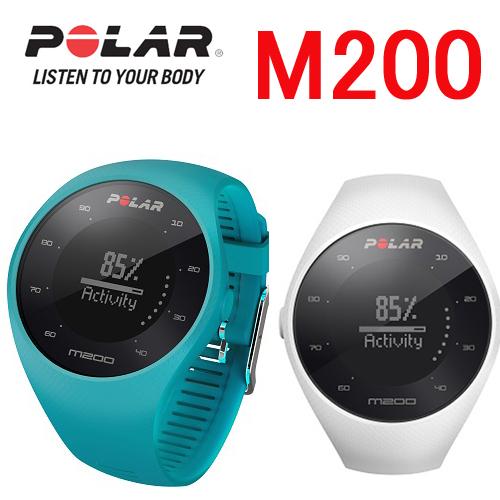 POLAR(ポラール)「M200 GPS ホワイト」【手首型心拍計】90067740 90068272国内正規品≪あす楽対応≫