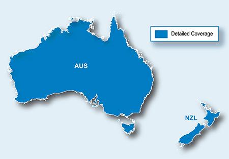 City Navigator Australia & New Zealand NT microSD/SD card(シティナビゲーターオーストラリア&ニュージーランド NT microSD/SDカード)GARMIN(ガーミン)