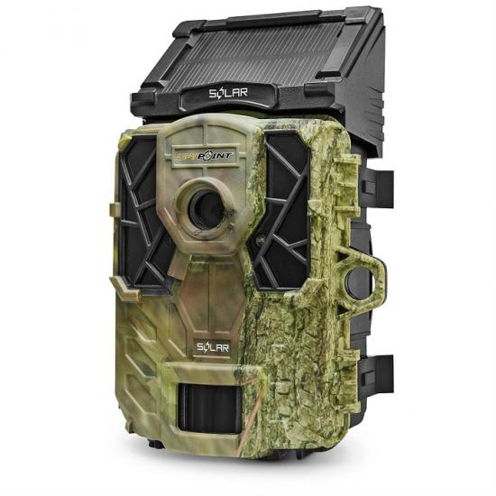 SpyPoint Solar(スパイポイントソーラー)自動撮影カメラ【送料・代引手数料無料】