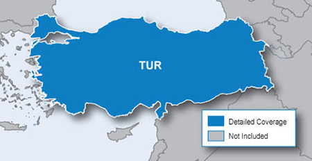 City Navigator Europe NT - Turkey microSD/SD card(シティナビゲーターヨーロッパ NT - トルコ microSD/SDカード)GARMIN(ガーミン)