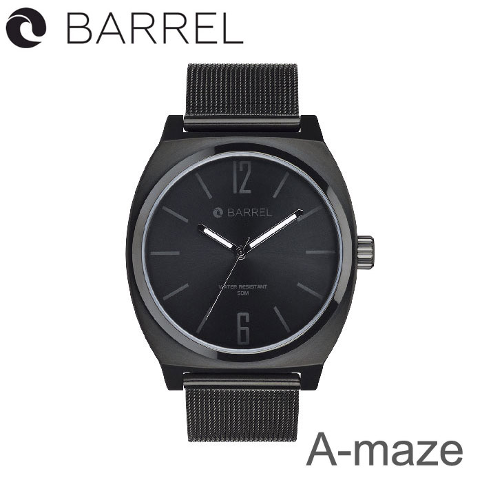 BARREL(バレル)A-maze (Total Black) 【送料・代引手数料無料】≪あす楽対応≫