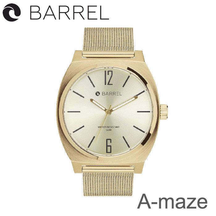 BARREL(バレル)A-maze (Gold) 【送料・代引手数料無料】≪あす楽対応≫