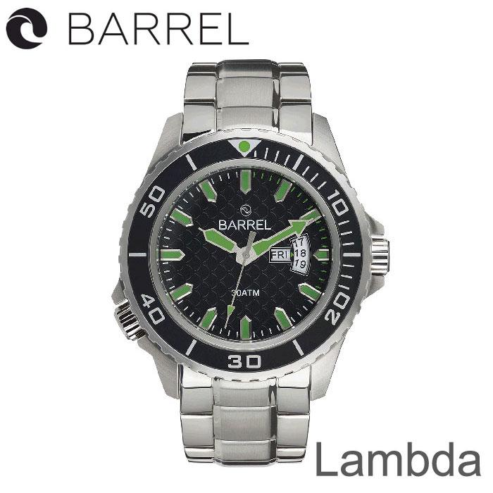 BARREL(バレル)Lambda (Black Green) 【送料・代引手数料無料】≪あす楽対応≫
