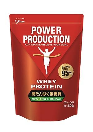 グリコ ホエイプロテイン プレーン味【800g】76035POWER PRODUCTION パワープロダクション≪あす楽対応≫