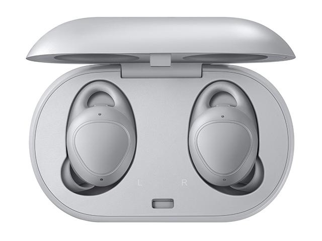 Samsung Galaxy Gear IconX (2018)「グレー」コードレス Bluetooth イヤホン SM-R140NZAAXJPカナル型、左右分離≪あす楽対応≫