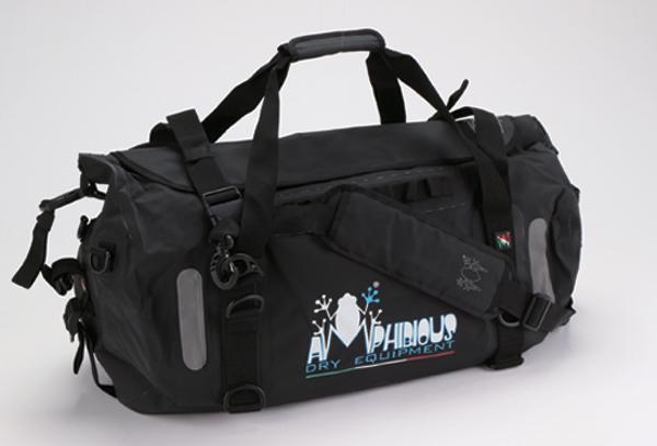 AMPHIBIOUS(アンフィビウス)イタリア製防水バッグVOYAGER(ヴォイジャー)BLACK(ブラック)45L【送料・代引手数料無料】≪あす楽対応≫