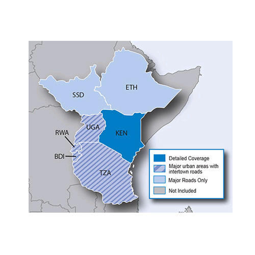 City Navigator Eastern Africa NT microSD/SD card(シティナビゲーター 東アフリカ NT microSD/SDカード)GARMIN(ガーミン)