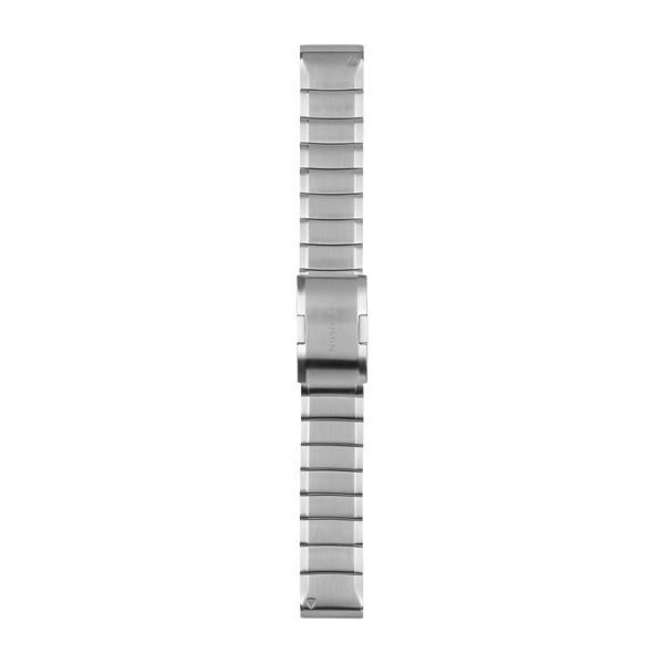 QuickFit 交換用バンド Silver Steel 22mm【fenix 5 Sapphire/ForeAthlete 945 935/fenix 5 Plus/fenix 5 Plus Sapphire/INSTINCT用】(QuickFitバンド 22mm)GARMIN(ガーミン)