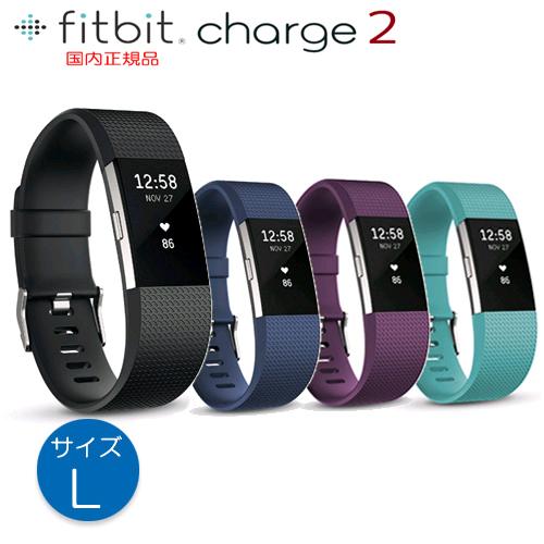Fitbit Charge2【Lサイズ】ライフログデバイス【送料・代引手数料無料】≪あす楽対応≫