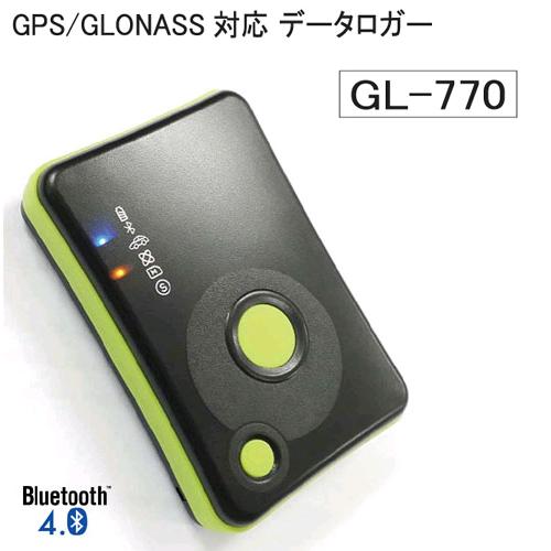 GL-770  Bluetooth Smart搭載GPSロガー【メール便対応不可】【送料・代引手数料無料】