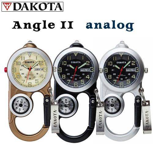 Dakota AnglerII Analog (ダコタ アングラー2 アナログ)クリップウォッチ【送料・代引手数料無料】≪あす楽対応≫