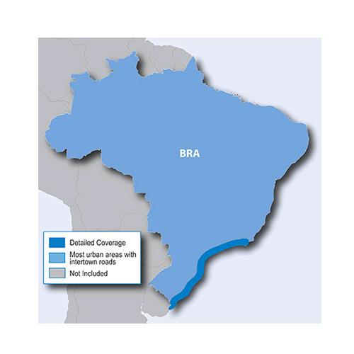 City Navigator Brazil NT microSD/SD card(シティナビゲーターブラジル NT microSD/SDカード)GARMIN(ガーミン)