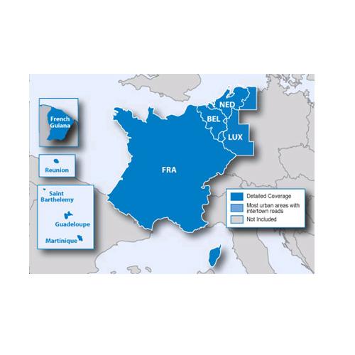 City Navigator Europre NT - Benelux/France microSD/SD card(シティナビゲーターヨーロッパ NT - ベネルックス/フランス microSD/SDカード)GARMIN(ガーミン)