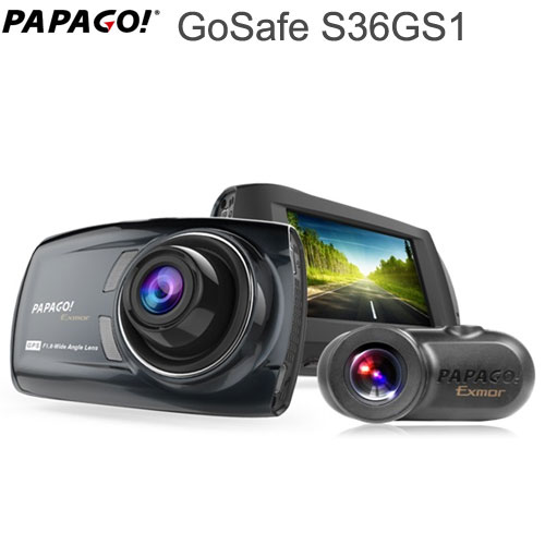 PAPAGO GoSafe S36GS1GPS内蔵ドライブレコーダー高画質フルHD 1080P 1920×1080【送料・代引手数料無料】≪あす楽対応≫