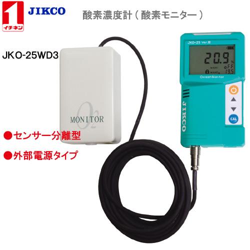 【高額売筋】 Ver.3イチネンジコ−【送料・手数料無料】:IDA ON−LINE <JKO-25WD3> 酸素濃度計-DIY・工具