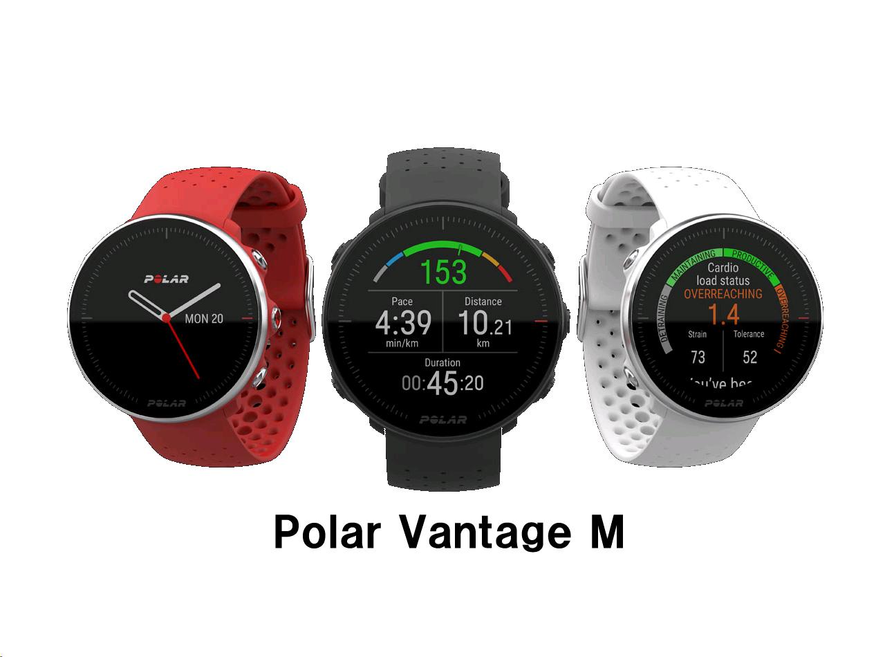 POLAR(ポラール)軽量モデルPolar Vantage M】国内正規品
