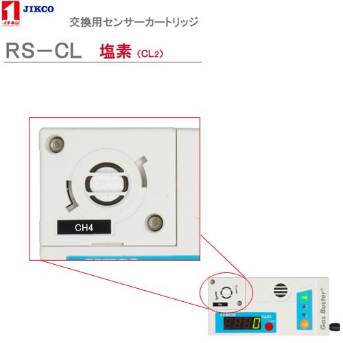 センサーカートリッジ【塩素】 <RS-CL>ガスバスター イチネンジコ-【送料・代引手数料無料】