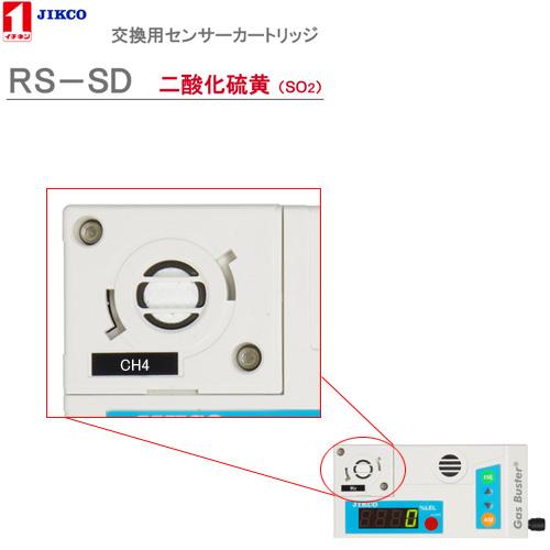 センサーカートリッジ【二酸化硫黄】 <RS-SD>ガスバスター イチネンジコ-【送料・代引手数料無料】