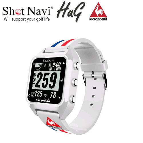 ShotNavi HuG le coq sportifコラボ (ショットナビ ハグ ルコックモデル GPSウォッチ)[送料・代引手数料無料]