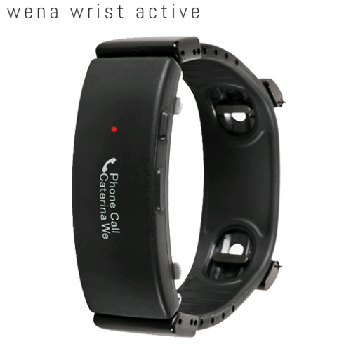 SONY wena wrist active Black【送料・代引手数料無料】