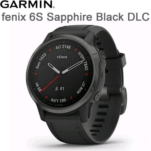 fenix 6S Sapphire Black DLC(フェニックス 6S サファイア ブラック DLC)fenix6S Sapphire Black DLC02159-7D【送料代引手数料無料】GARMIN(ガーミン)≪あす楽対応≫
