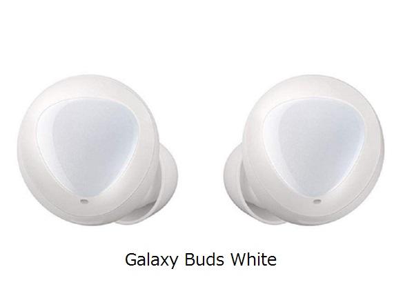 Samsung Galaxy Buds 「ホワイト」コードレス Bluetooth イヤホン SM-R170NZWAXJPカナル型、左右分離ワイヤレスイヤホン